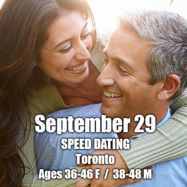 Speed-Dating toronto 2015 Messianische Datierung online