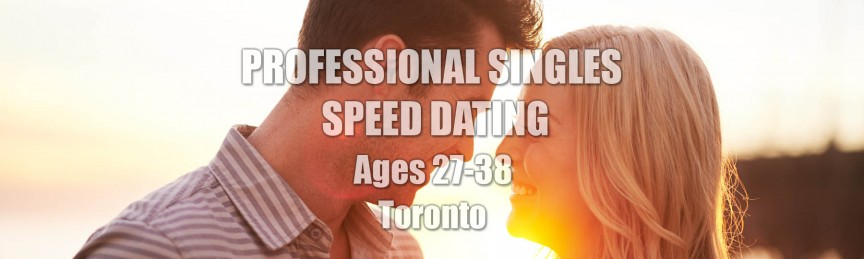 Asian professional speed dating toronto
