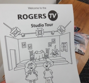 Rogers TV studio tour