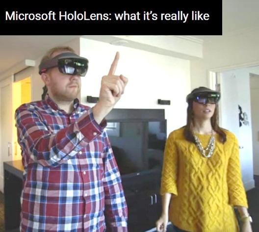 dating app on Hololens AR