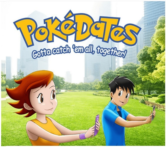 PokeDates os a Pkemon Go inspired dating app
