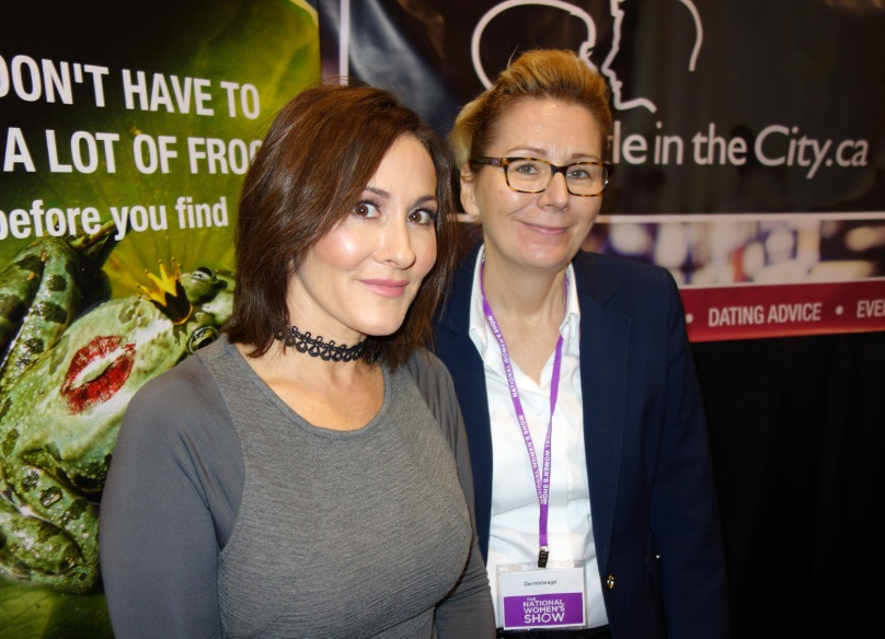 Laura with Dermvisage at National Women's Show