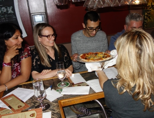 What Happened at Singles Pizza Making Night at Amico's Pizza?