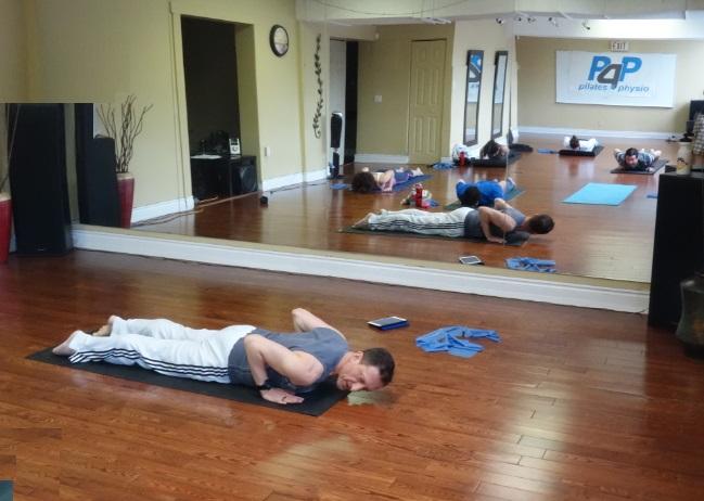 Damian Wyard, Pilates4Physio, Singles Fitness