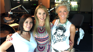 Laura Bilotta, Joan Kelley Walker from the Real Housewives of Toronto and Hanya Kizemchek from Hanya's Hope Charity