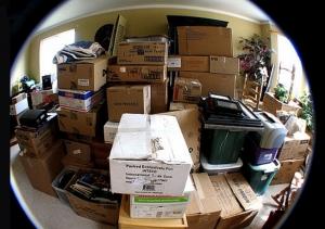 boxes in condo