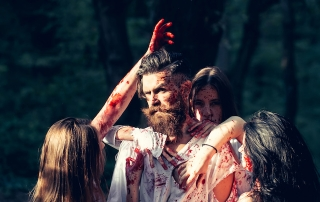 zombies on halloween, dating trends