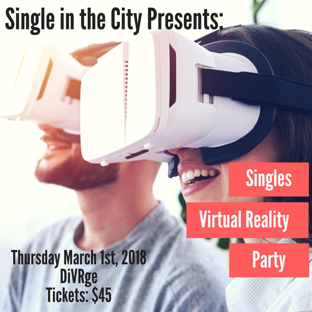 Toronto Singles virtual reality party