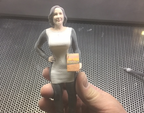 3D Printing Laura Bilotta at MY3DAgency