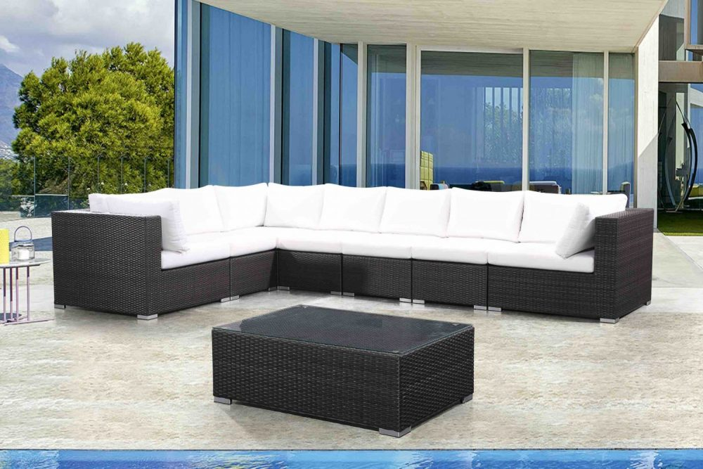 RIVA, outdoor lounge set for two thousand bucks at Velago Patio Furniture in Etobicoke