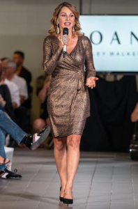 Joan kelly walker at her fashion show