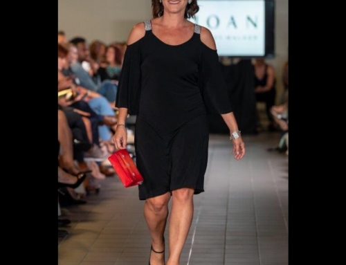 On the Catwalk with Joan Kelly Walker