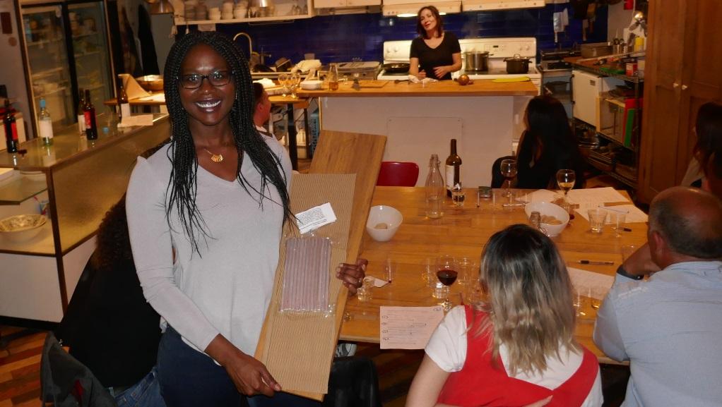 wooden wine racks, singles wine tasting event in Toronto